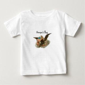 古い栄光のワシ ベビーTシャツ