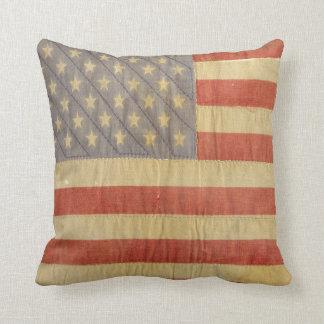 古い栄光の旗の枕 クッション