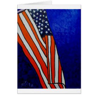 古い栄光の旗 カード