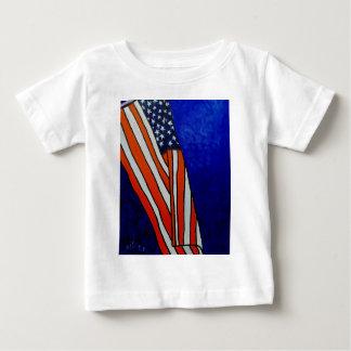 古い栄光の旗 ベビーTシャツ