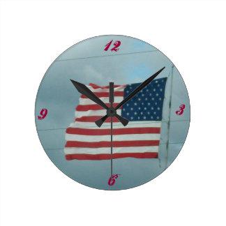 古い栄光 ラウンド壁時計