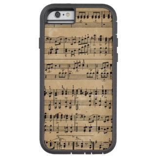 古い楽譜 TOUGH XTREME iPhone 6 ケース