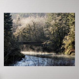 古い橋… ポスター