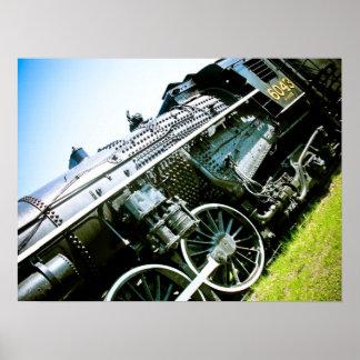 古い機関車01ポスター ポスター