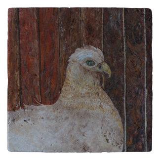 古い母雌鶏 トリベット