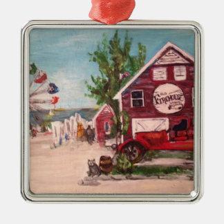 古い消防署、オーナメントのジュネーブの絵画 メタルオーナメント