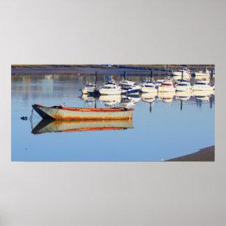 古い漁船 ポスター