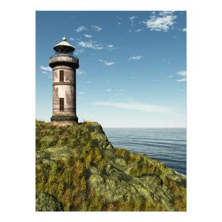 古い灯台 フォトプリント