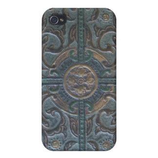 古い用具を使われた革遺物 iPhone 4 CASE