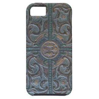 古い用具を使われた革遺物 iPhone SE/5/5s ケース