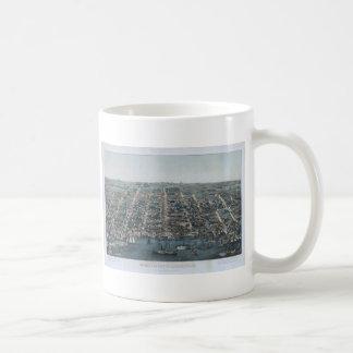 古い町アレキサンドリア コーヒーマグカップ