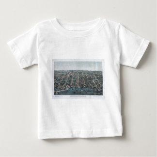古い町アレキサンドリア ベビーTシャツ