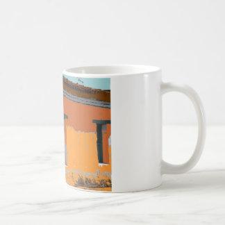 古い町 コーヒーマグカップ