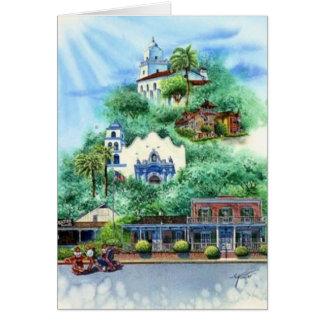 古い町、サンディエゴ カード