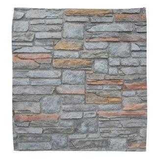 古い石塀の質 バンダナ