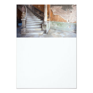 古い石造りの階段 カード