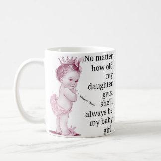 古い私の私の娘が…得てもいかに コーヒーマグカップ