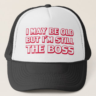 古い私は今でもボスです キャップ
