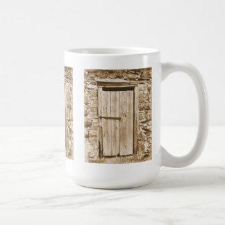 古い納屋の大戸 コーヒーマグカップ