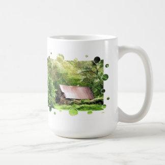 古い納屋 コーヒーマグカップ