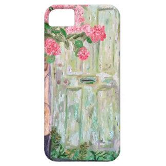 古い緑のドア iPhone SE/5/5s ケース