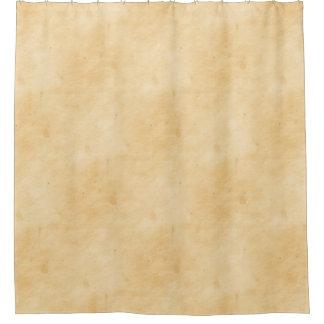 古い羊皮紙の背景によって汚されるまだらにされた一見 シャワーカーテン