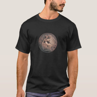 古い英国の半分のペニー Tシャツ