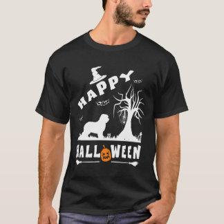 古い英国の牧羊犬のハッピーハローウィンの愛犬家 Tシャツ