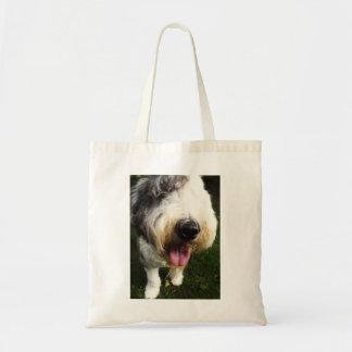 古い英国の牧羊犬のバッグ-大きい鼻 トートバッグ