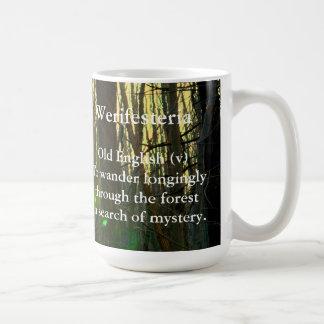 古い英語Werifesteria コーヒーマグカップ