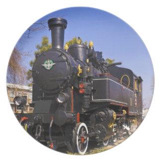 古い蒸気機関車 プレート