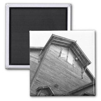古い製造所の納屋の写真撮影 マグネット