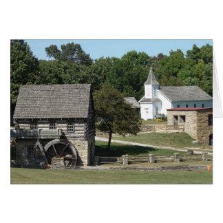 古い製造所、刑務所および教会 カード