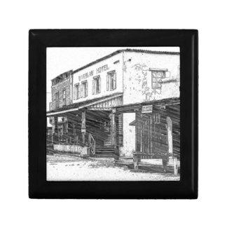 古い西部の町 ギフトボックス