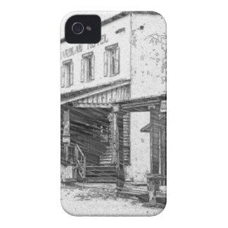 古い西部の町 iPhone 4 カバー