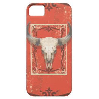 古い西部牛スカル iPhone 5 COVER