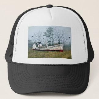 古い買物のボート キャップ