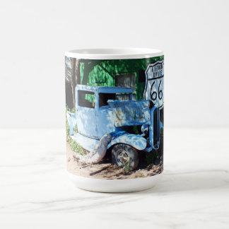 古い車のルート66 コーヒーマグカップ
