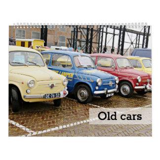 古い車 カレンダー