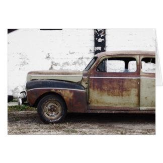 古い車 カード