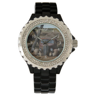 古い車 腕時計
