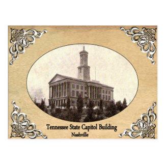 古い郵便はがきを造るテネシー州の州の国会議事堂 ポストカード