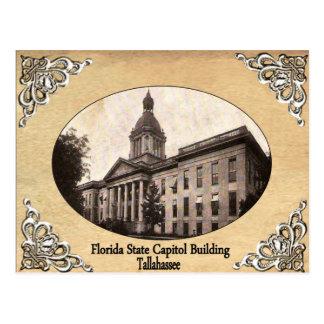 古い郵便はがきを造るフロリダの州の国会議事堂 ポストカード