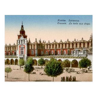 古い郵便はがき-クラクフ、ポーランド ポストカード