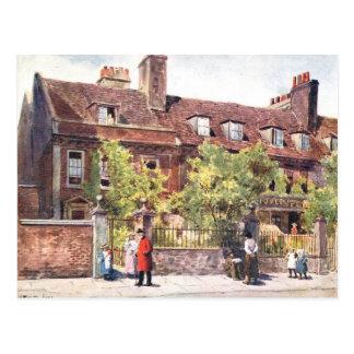 古い郵便はがき-チェルシー、ロンドン ポストカード