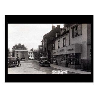 古い郵便はがき- Bicester、オックスフォードシャー ポストカード