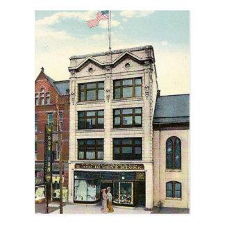 古い郵便はがき- F W Woolworth、ヨーク、ペンシルバニア ポストカード