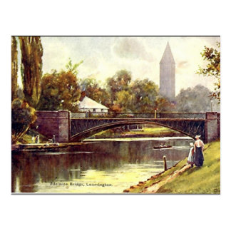 古い郵便はがき、Leamingtonの王室のなスパ ポストカード