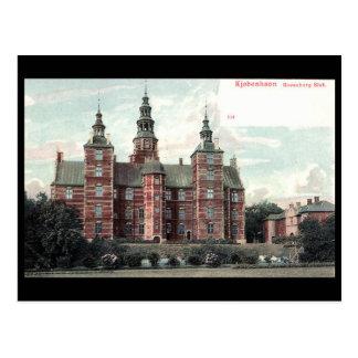 古い郵便はがき- Rosenborgの城、コペンハーゲン ポストカード