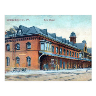 古い郵便はがき- Susquehanna、ペンシルバニア ポストカード